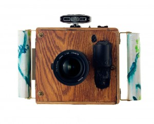 A hand built super wide camera