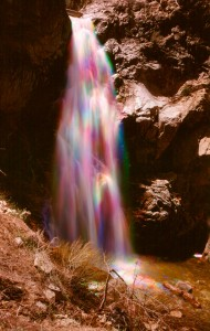 Buckhorn Falls in Angeles Crest. I have shot these falls several times.