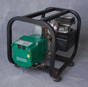 Gas generator for location work