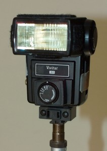 Vivitar 283-with manual power control and 2nd capacitor modification