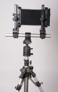 My Toyo 4X5 Camera-about the same size as my original Omega. 121mm Super Angulon Lens.