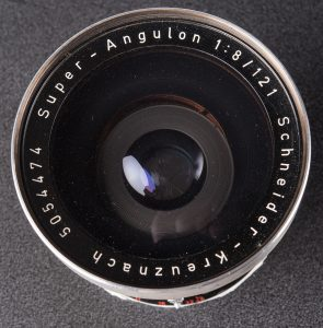 121mm f8 Super Angulon