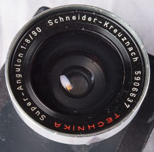 90mm f8 Super Angulon